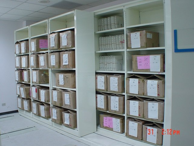 Lateral sliding shelving_006